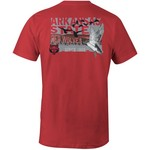 Image One Men's Arkansas State University Comfort Color Duck Flock T-shirt