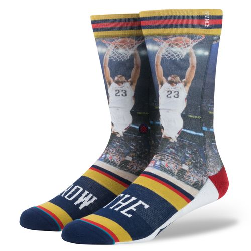 Stance Men's New Orleans Pelicans Anthony Davis The Brow Socks - view number 1
