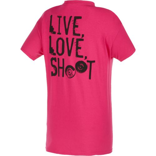 Smith & Wesson Women's Live, Love, Shoot T-shirt