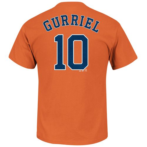Majestic Men's Houston Astros Yulieski Gurriel #10 T-shirt