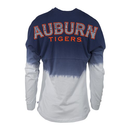 NCAA Women's Auburn University Ombré Tribal Football T-shirt