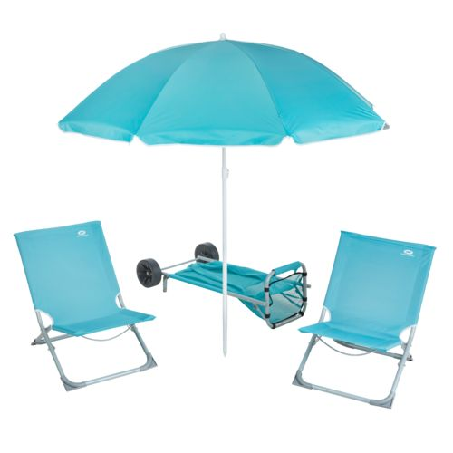 Display product reviews for O'Rageous 5-Piece Beach Gear Set