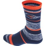 For Bare Feet Men's University of Texas at San Antonio Stripe Athletic Crew Socks - view number 2