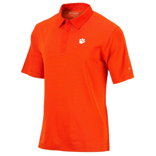 Columbia Sportswear Men's Clemson University Mississippi Sunday Polo Shirt