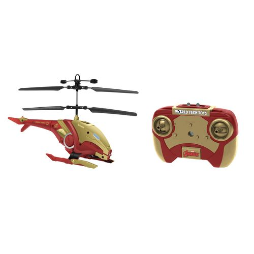 World Tech Toys Marvel Iron Man Shaped IR Helicopter