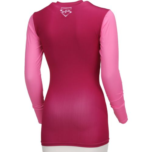 Boombah Women's Long Sleeve Compression Shirt - view number 2