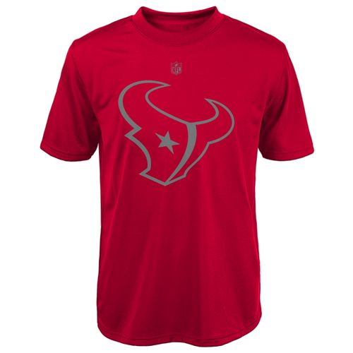 NFL Boys' Houston Texans Dri-Tek Magna Reflect T-shirt