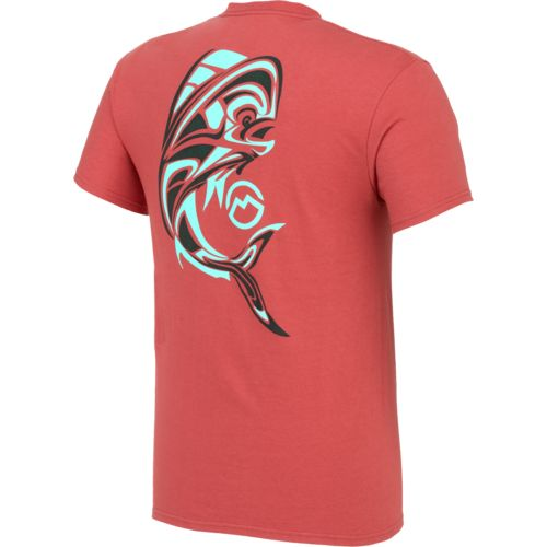 Magellan Outdoors Men's Aztec Dolphin Pocket T-shirt