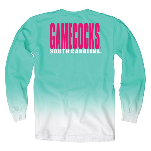 Blue 84 Women's University of South Carolina Ombré Long Sleeve Shirt