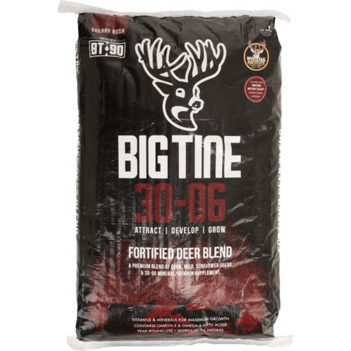 Display product reviews for Big Tine 40 lb 30-06 Deer Feed with BT-90