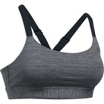 Under Armour Women's Eclipse Mid Heather Sports Bra - view number 1