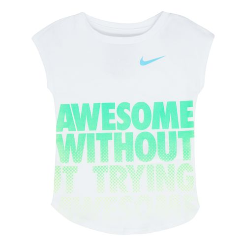 Nike Girls' Awesome Without Trying Modern T-shirt