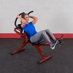 Body-Solid Best Fitness Semi-Recumbent Ab Bench - view number 3