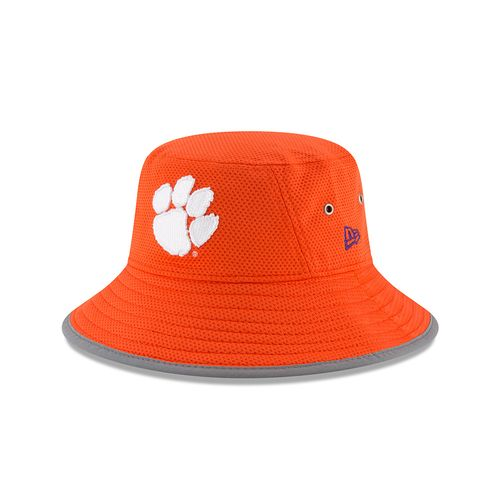 New Era Men's Clemson University Team Training Bucket Hat