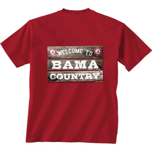 New World Graphics Men's University of Alabama Welcome Sign T-shirt