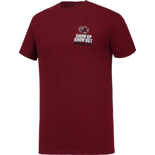 New World Graphics Men's University of South Carolina Football Schedule '17 T-shirt - view number 3