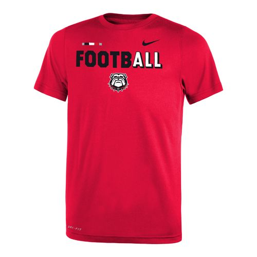Nike Boys' University of Georgia Legend Football T-shirt