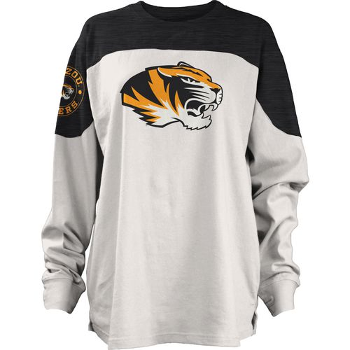 Three Squared Juniors' University of Missouri Cannondale Long Sleeve T-shirt