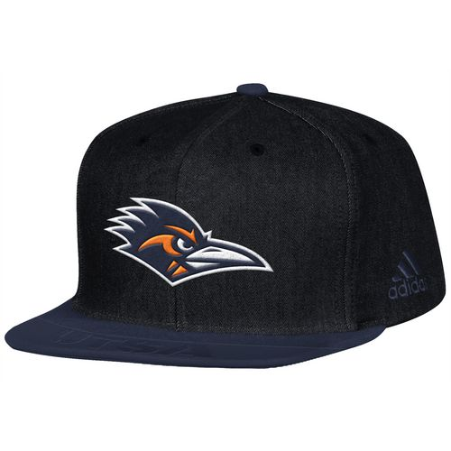 adidas Men's University of Texas at San Antonio Sideline Player Flat Brim Snapback 2-Tone Cap
