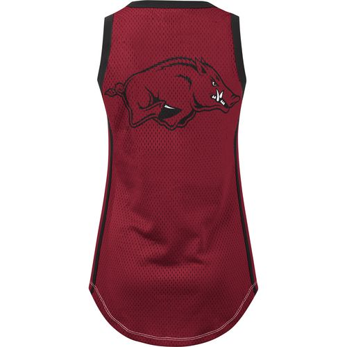 G-III for Her Women's University of Arkansas Opening Day Mesh Tank Top - view number 2