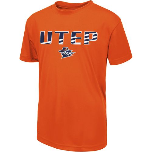 Colosseum Athletics Boys' University of Texas at El Paso Team Stripe T-shirt