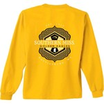 New World Graphics Women's University of Southern Mississippi Faux Pocket Long Sleeve T-shirt - view number 1