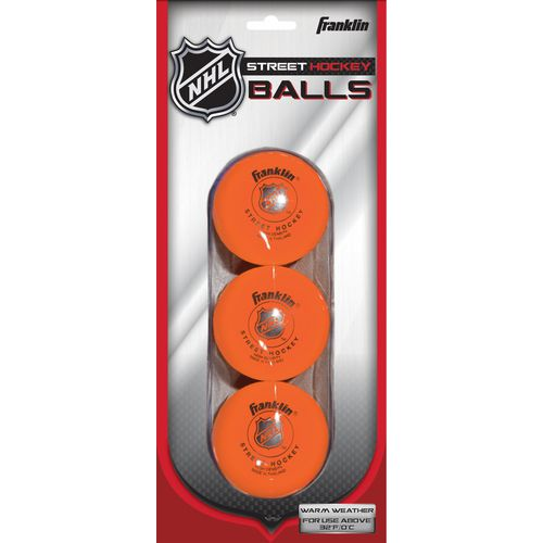 Franklin High-Density Street Hockey Balls 3-Pack