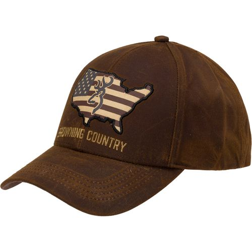 Browning Men's Bozeman Atacs Country Wax Cap