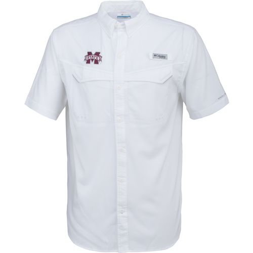 Columbia Sportswear Men's Mississippi State University Low Drag Offshore Short Sleeve Shirt
