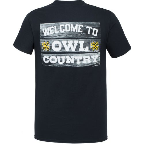 New World Graphics Men's Kennesaw State University Welcome Sign T-shirt