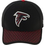 New Era Men's Atlanta Falcons Onfield Sideline Team 2-Tone 39THIRTY Cap - view number 1