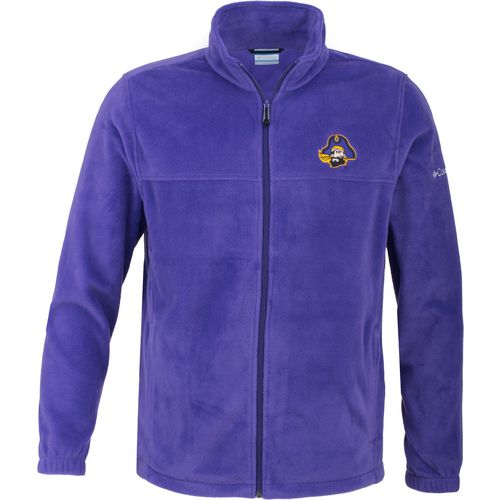 Columbia Sportswear Men's East Carolina University Flanker Full Zip Fleece