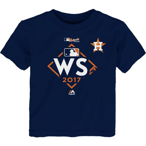 Majestic Astros Toddler Wolrd Series Participant T-Shirt