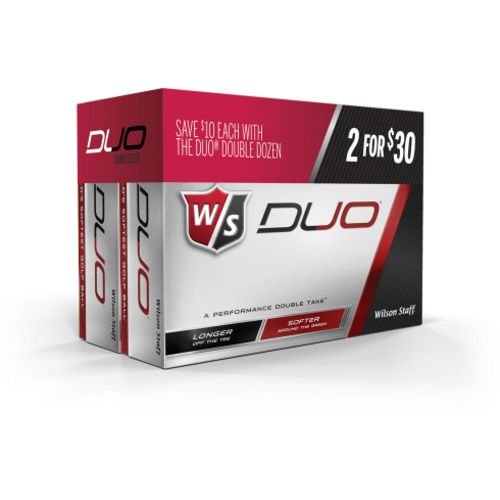 Wilson Staff DUO Golf Balls 24-Pack