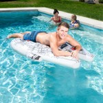 SwimWays Star Wars Millennium Falcon Ride-On Pool Float - view number 2