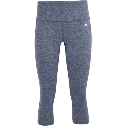 BCG Women's Mesh-Pieced Capri Training Pants