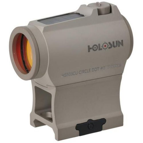 Holosun 20 mm Solar Micro Red-Dot Sight - view number 1