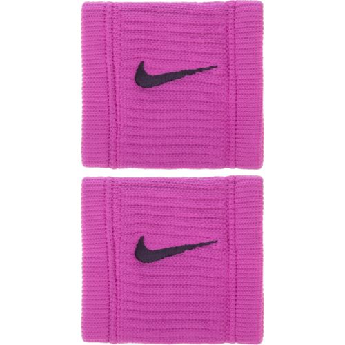 Nike Dri-FIT Reveal Wristbands Hyper Magenta/Grand Purple - Basketball Accessories at Academy Sports
