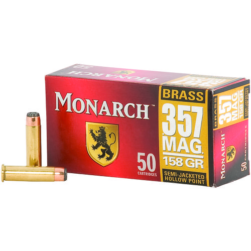 Monarch® SJHP .357 Magnum 158-Grain Pistol Ammunition - view number 2