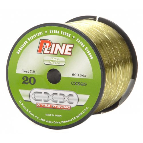 P line 20 lb 600 yards monofilament fishing line academy for Pline fishing line