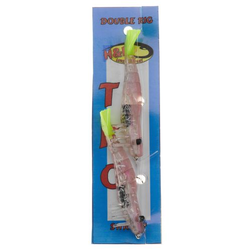 """Display product reviews for H&H Lure TKO 3"""" Shrimp Double Rig Bait"""