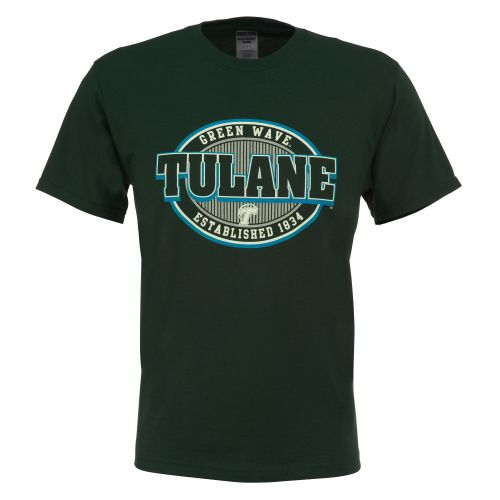 Viatran Adults' Tulane University T-shirt