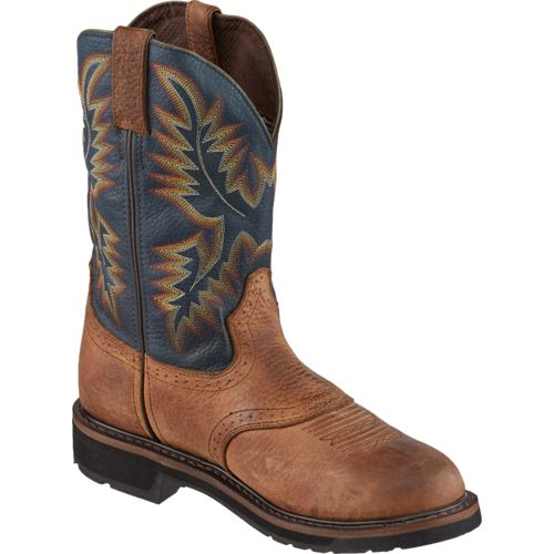 Justin Men's Original Stampede Copper Kettle Rowdy Work Boots - view number 2