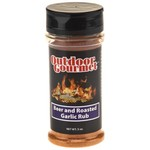 Outdoor Gourmet Beer and Roasted Garlic Seasoning Rub