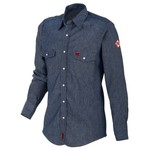 Wrangler® Men's Basic Fire Resistant Work Shirt