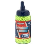 Crosman 6mm 0.12-gram Green Airsoft BBs 2,000-Pack
