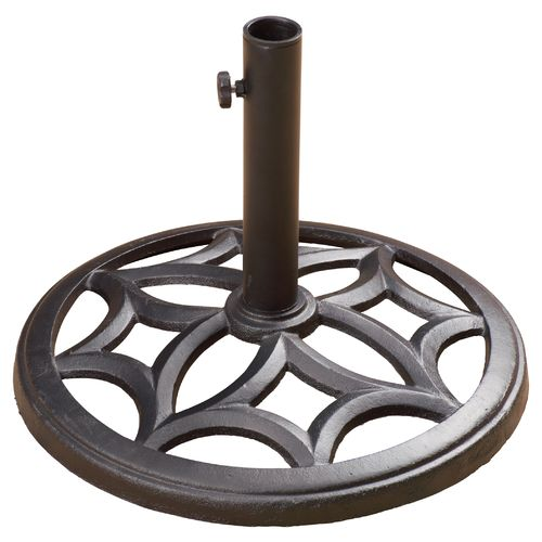 Image for mosaic cast iron umbrella base from academy