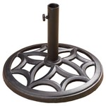 Mosaic Cast Iron Umbrella Base
