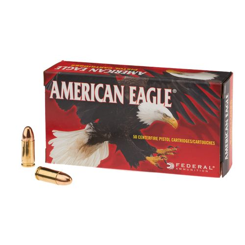 American Eagle® 9mm Luger 124-Grain Centerfire Handgun Ammunition