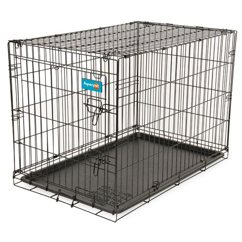 "Display product reviews for Aspen Pet Medium Home Training 38"" Wire Kennel"